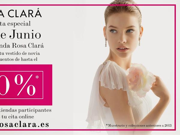 Venta especial vestidos de novia de Rosa Clara