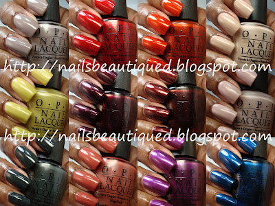 OPI Germany Collection Fall/Winter 2012