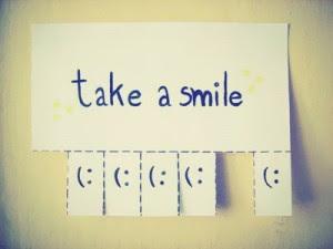 Toma una sonrisa....