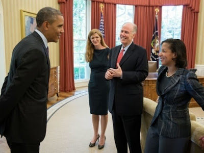 Obama and advisors