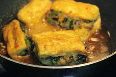 Vietnamese Food - Đậu Phụ Nhồi Sốt Chua Ngọt