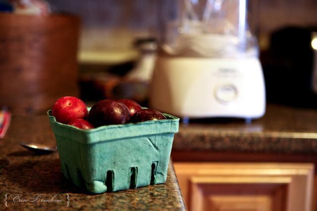 Better Than Doing Laundry: Spiced Plum Sorbet