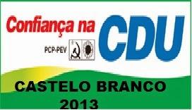 CDU Castelo Branco - Autárquicas 2013