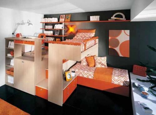 Ideas de dise o de dormitorios para ni os con mucho color - Diseno para dormitorios ...