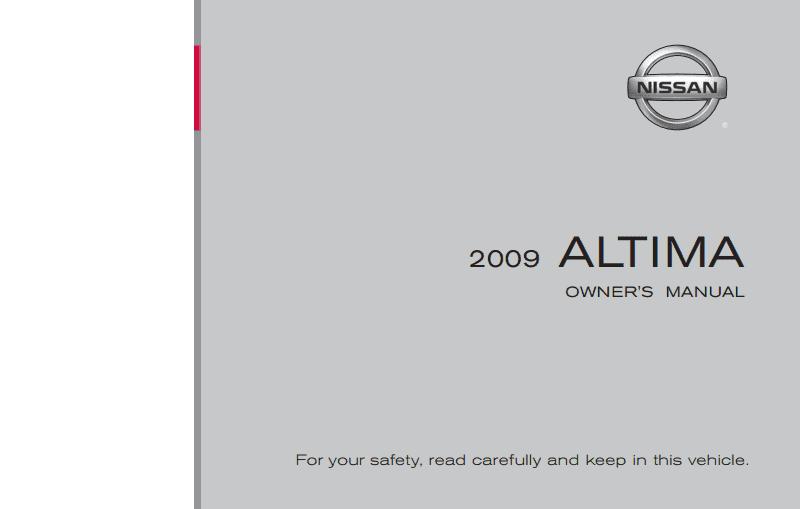 manual altima 2009