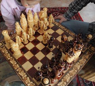 ajedrez en la infancia