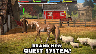 Screenshots of the Ultimate horse simulator for Android tablet, phone.