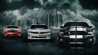 Awesome Sports Cars in Rain free wallpaper for pc