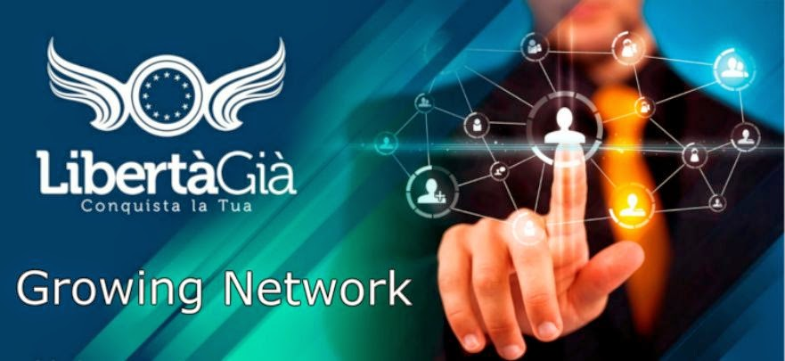 Libertagia - Growing Network