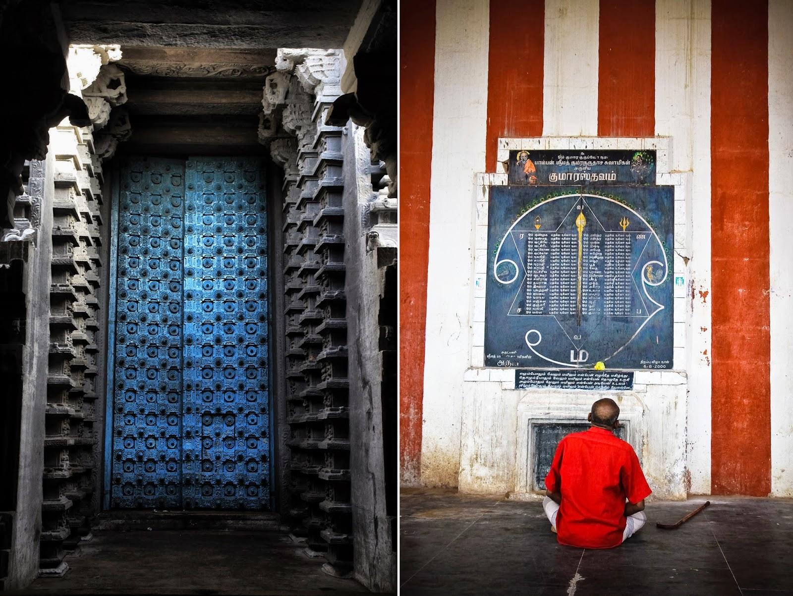 Thiruchendur Ornate Temple Door
