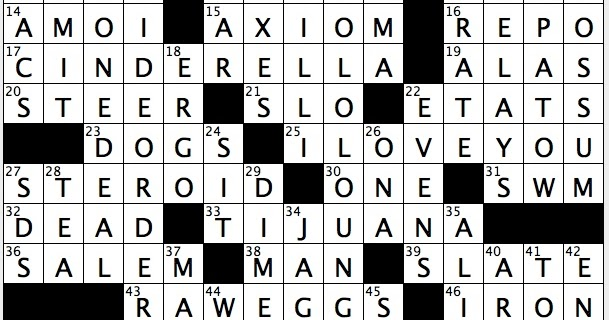 Rex Parker Does The Nyt Crossword Puzzle Country Crooner Robbins Mon 6 8 15 Noted Watering