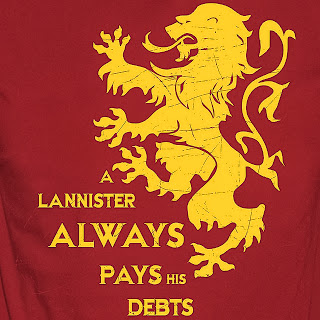 lannister sigil - a lannister always pays his debts