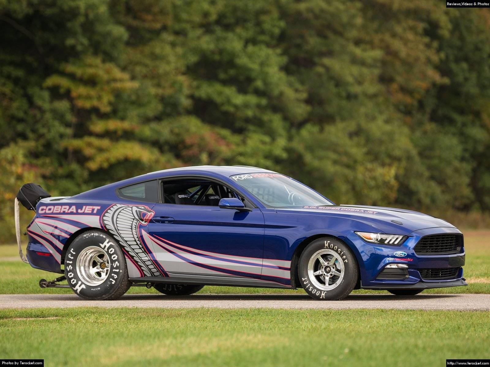 Hình ảnh xe ô tô Ford Mustang Cobra Jet 2016 & nội ngoại thất