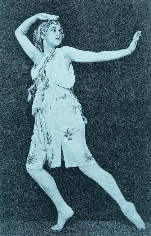 Desenho de figurino de Léon Bakst (1866-1924).