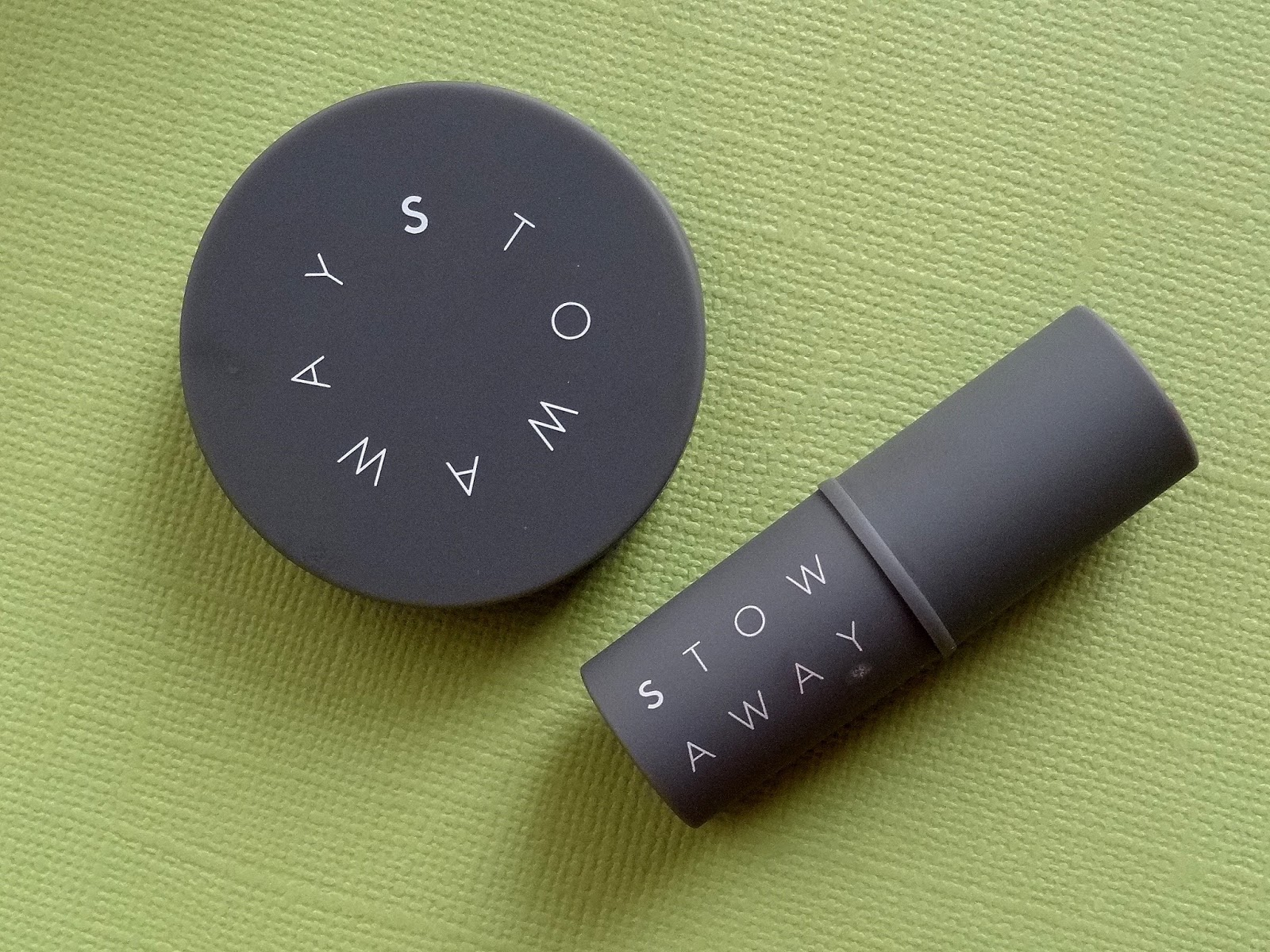 Stowaway Cosmetics Creme Lipstick in Scarlet and Cheek and Lip Rouge in Burnt Rose Review, Photos, Swatches