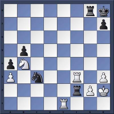 Les Noirs jouent et gagnent en 3 coups