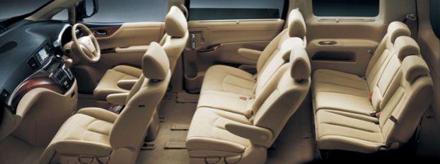 Nissan Elgrand Seat