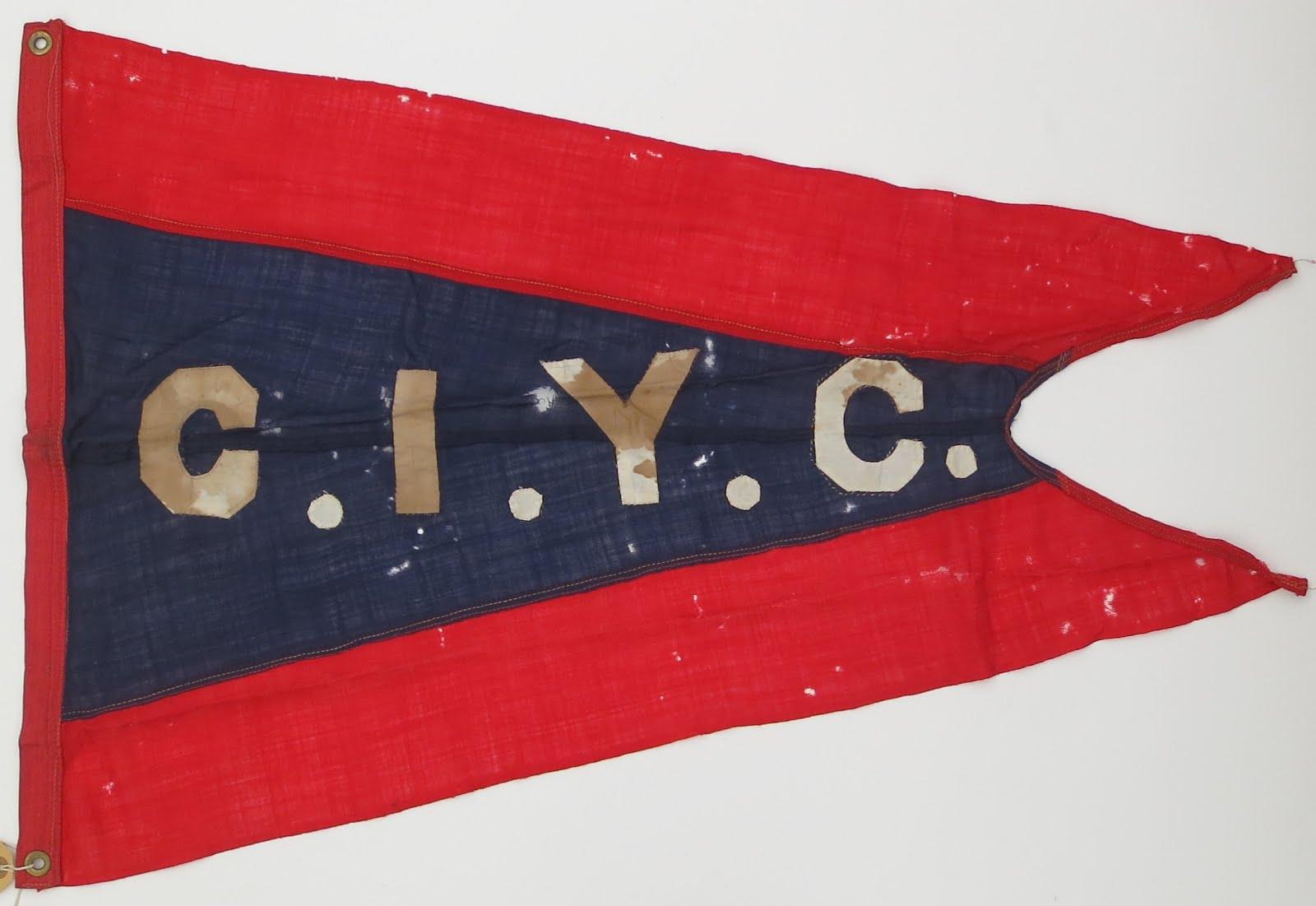 Chelsea Ice Yacht Club Burgee
