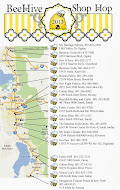 Fall Shop Hop Map