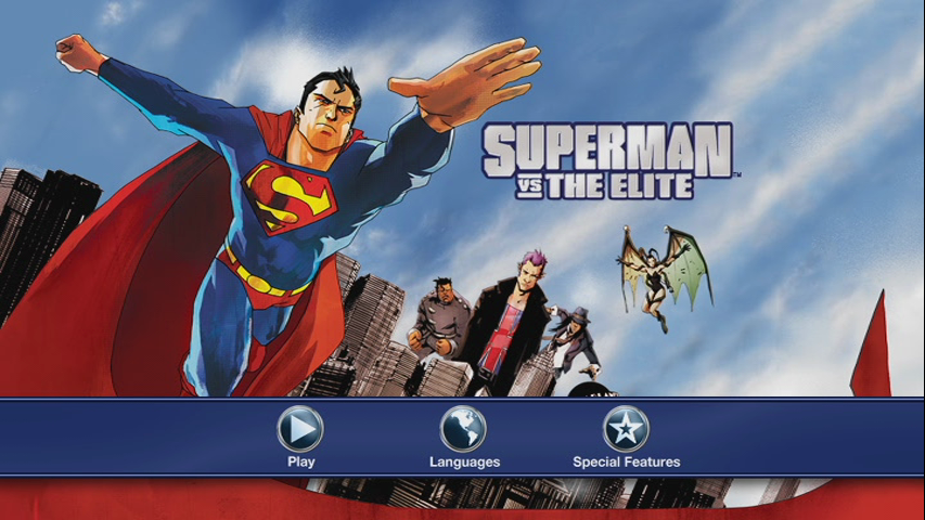 Superman Vs. The Elite (2012) DVDR NTSC Español Latino/Ingles 5.1