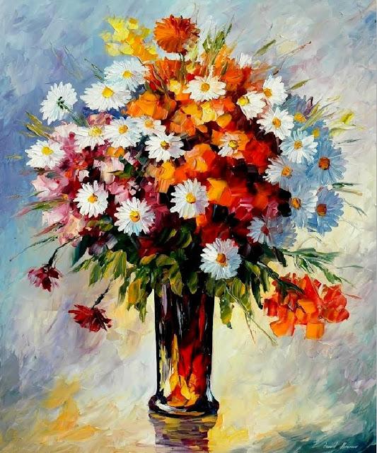cuadros-de-flores-espatula