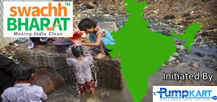 Swachh Bharat a Social Movement started by Pumpkart.com