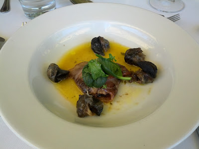 la petite ferme franschhoek south africa escargot appetizer