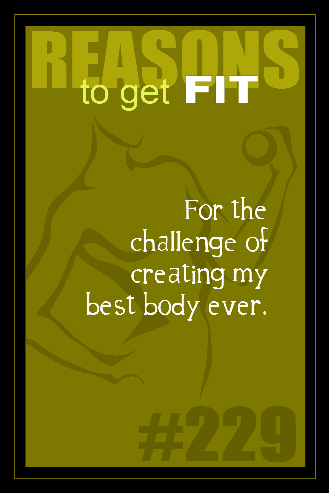 365 Reasons to Get Fit #229