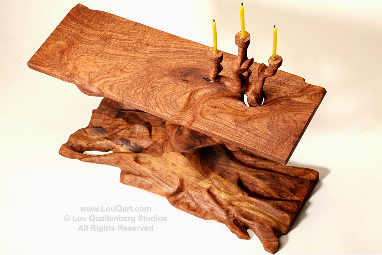 maquette in mesquite branch altar table