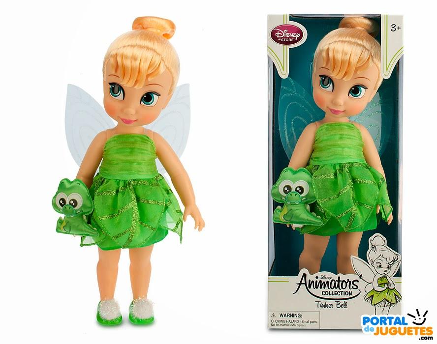 muñeca campanilla coleccion disney animators segunda edicion caja