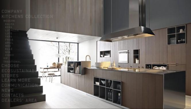 Cocinas modernas por cesar casas decoracion - Cocinas super modernas ...