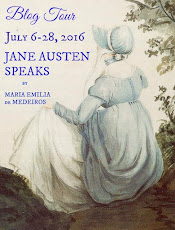Jane Austen Speaks by Maria-Emilia de Medeiros Blog Tour!