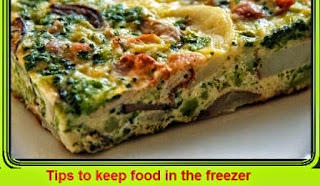 Tips to keep food in the freezer