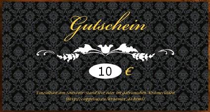 Coppelius Gutscheinkarte