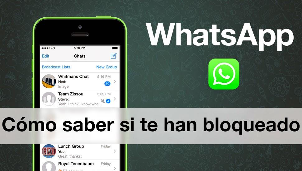 Como Saber Si Te Han Bloqueado En WhatsApp