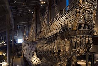 Vasa, el único galeón original