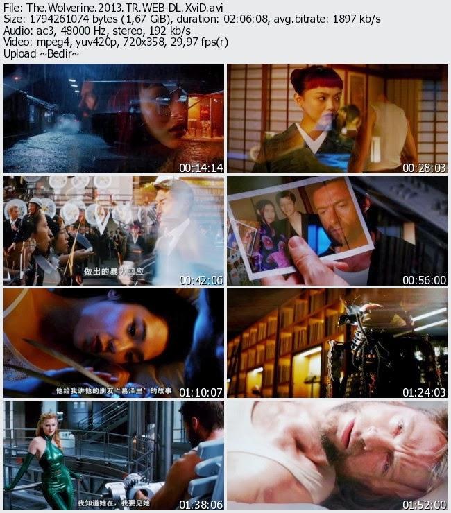 The Wolverine 2013 Türkçe Dublaj Tek Link Film İndir