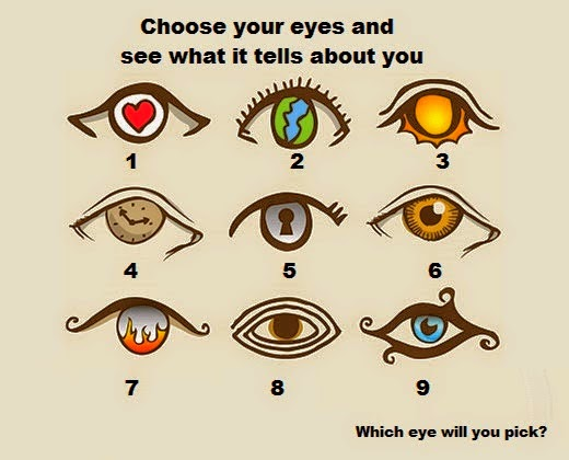 Beautiful Quotes: A FUN PERSONALITY TEST! CHOOSE AN EYE ...