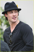 GATO DO DIA : IAN SOMERHALDER