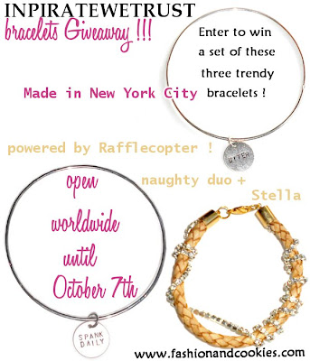 In Pirate We Trust giveaway - win a set of bracelets !