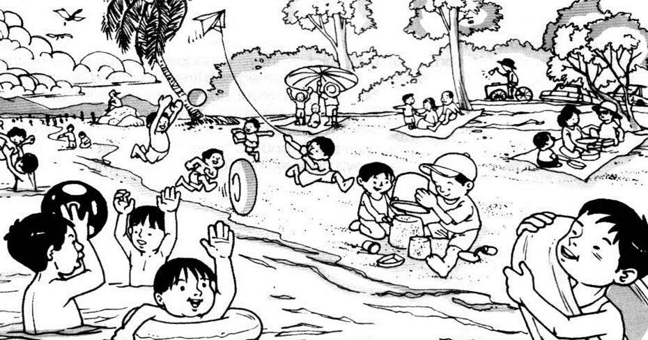 Bahasa Melayu Upsr Membina 5 Ayat Di Tepi Pantai