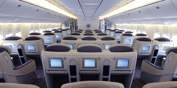 Vols d part martinique vers paris 588 euros air france for Interieur avion air canada