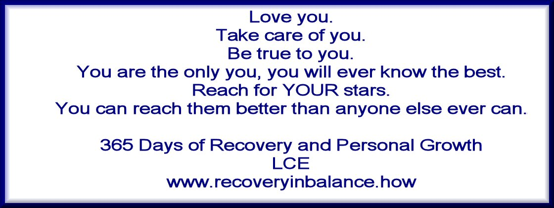 Recovery in Balance