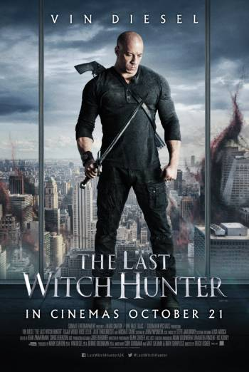 Poster Of The Last Witch Hunter 2015 English 300MB BRRip 480p Free Download Watch Online