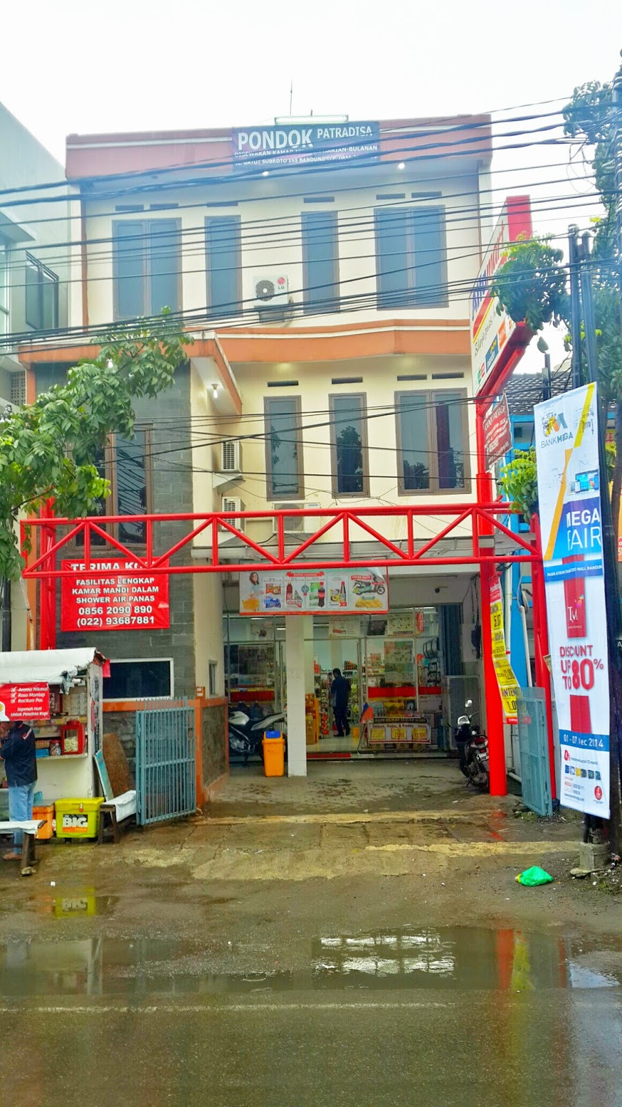 Lokasi Strategis Hotel Murah Pondok Patradisa Bersih Dengan Fasilitas Baik Berpusat Di Kota Bandung Dan Tidak Jauh Dari Trans Studio