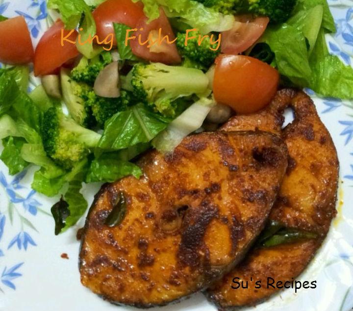Su 39 s recipes king fish fry for King fish recipe