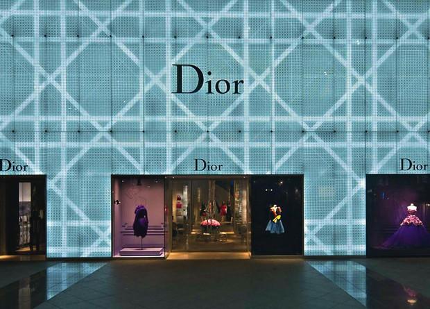 fachada loja Dior Shopping Cidade Jardim