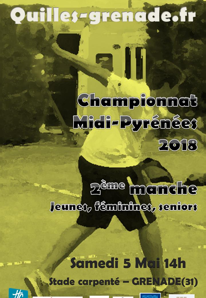 2ème manche chpt MP 2018 - Grenade