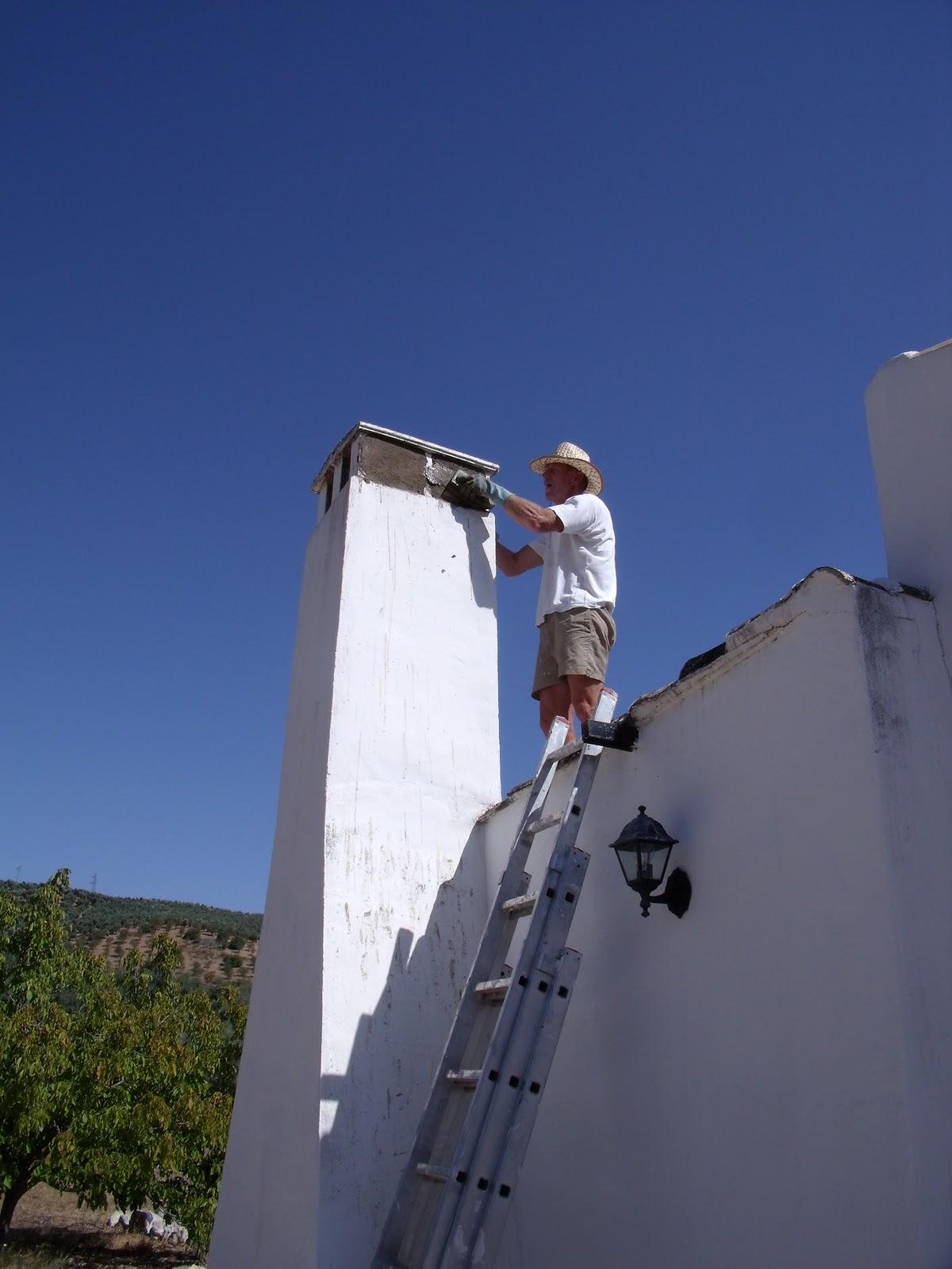 Cortijo del sue o schoorsteen - Centraal geschorste schoorsteen ...