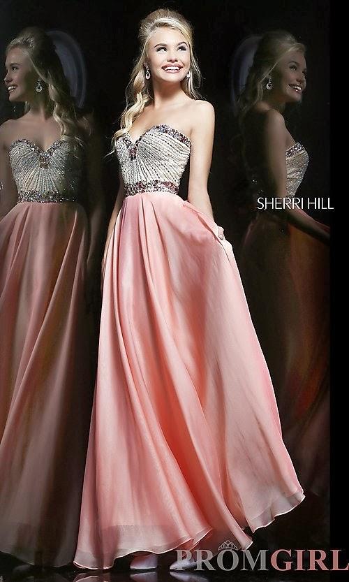 Latest Fashion Trends: Sherri Hill Beautiful Long Prom Dresses 2013/2014